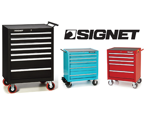 Signet 7 Drawer H.D. Tool Cabinet by SIGNET
